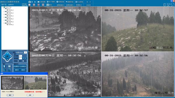 森林防火视频监控预警管理系统